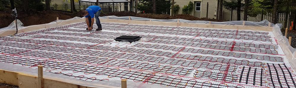 meilleur électricien installation plancher chauffant radiant